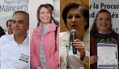 Inicia debate entre candidatos a la jefatura del Gobierno capitalino | Info7 | Nacional