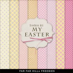 Far Far Hill: New Freebies Kit of Backgrounds - My Easter