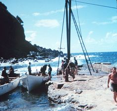 Geodesy operations on Pitcairn Island