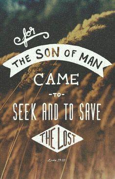 Lucas 19:10 - Versículo Bíblico
