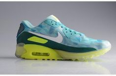 393c5fdf39bdb Buy Nike Air Max 90 Anniversary ICE Diamond Womens Running Shoes  Transparent Night Glow Green Yellow Online Sale from Reliable Nike Air Max  90 Anniversary ...