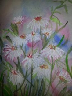 Watercolor by Gwendolyn Cunningham copyright 02/14