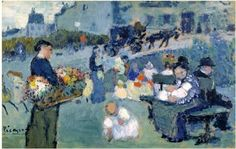 Pablo Picasso  The flower seller - 1901