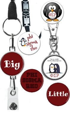 Phi Sigma Rho--I can personalize for any sorority!!  www.julielucas.magnabilities.com
