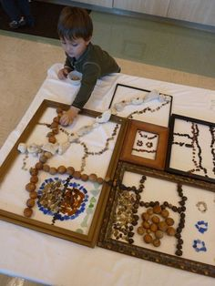 This post will be filled with images and links to get you thinking about possibilities for your atelier/art studio. the idea is to pick o. Reggio Inspired Classrooms, Reggio Classroom, Classroom Ideas, Reggio Emilia, Creative Play, Creative Area, Creative Workshop, Classroom Environment, Preschool Art