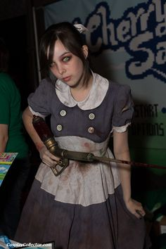 Little Sister from the game bioshock