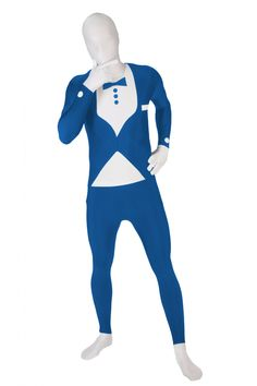 SALE Gangster Morphsuit 20s Fancy Dress Costume 1920s Party Festival Halloween
