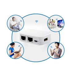 Portable Mini Wireless Router Repeater Bridge with USB Flash Drive //Price: $18.69 & FREE Shipping //     #electronic #device #gadget