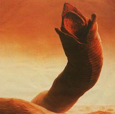 - Dune art by John Shoenherr Dune Film, Art Science Fiction, Sci Fi Kunst, Dune Art, Edge Of Tomorrow, 70s Sci Fi Art, Alien Creatures, Alien Vs, Art