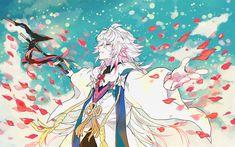 壁紙をダウンロードする マーリン, アニメキャラクター, Fate stay night, マンガ, TYPE-MOON