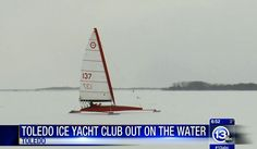 Toledo is in a perfect spot for ice boat sailing. Too far south, and there's no river/lake ice. Too far to the north, and you get too much snow! Germany and Poland are also in the 200 mile range.
