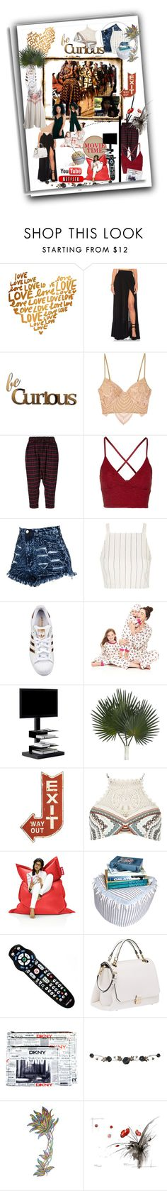 """Conley_ esperanzaj-brownshuga"" by conley-esperanzaj1957 ❤ liked on Polyvore featuring Wildfox, Letter2Word, For Love & Lemons, Arts & Science, Topshop, adidas Originals, Bed Head by TIGI, Waring, Opinion Ciatti and Dot & Bo"