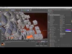 CINEMA 4D R18 - New Features Preview - MoGraph Selektionen, Matrix & Caching - YouTube