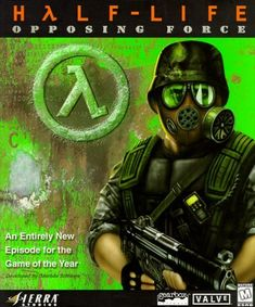 Half-Life: Opposing Force (1999) developed by Gearbox Software and Valve and published by Sierra Studios