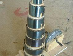 Miniprojekt: Lochsägen-Torte Lochsäge,Aufbewahrung,Einteilung