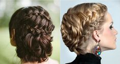 The Double Waterfall French Braid Hairstyle – DIY
