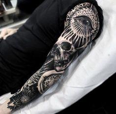 Dark Sleeve Tattoo sleeve designs, Skull sleeve tattoos, Tattoos Hi Here we have great wallpaper about black tattoo designs. Trendy Tattoos, Black Tattoos, Tattoos For Guys, Cool Tattoos, Tattoo Guys, Feminine Tattoos, Dark Tattoos For Men, Tattoos Pics, Skull Sleeve Tattoos