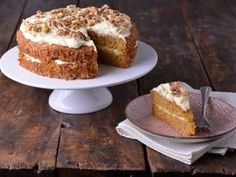 Receta | Carrot cake (Tarta de zanahoria) - canalcocina.es