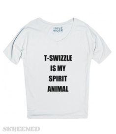 T-SWIZZLE | T-SWIZZLE IS MY SPIRIT ANIMAL #Skreened #TAYLORSWIFT @SHAKEITOFF #1989 TAYLOR SWIFT