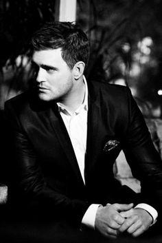Michael Bublé  una gran voz, es un placer escucharle...