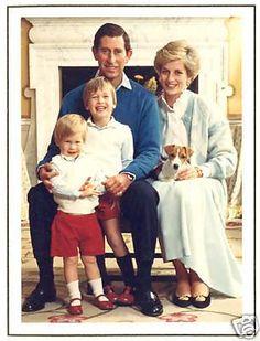 Princess Diana & Prince Charles Holiday Cards
