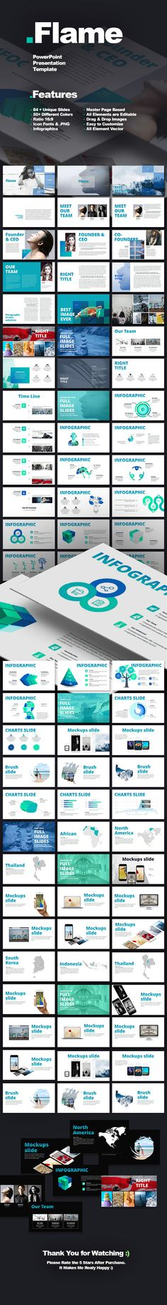 Famous - Creative Presentation Creative, Creative powerpoint and - powerpoint presentations template
