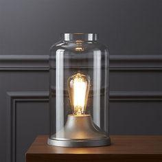 CB2, $69.95  cloche table lamp  | CB2