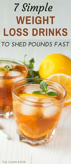 Weight Loss Diet Plan Shed pounds FAST with these 7 simple and healthy weight loss drinks! Help your body detox after a long weekend out! Best Weight Loss Plan, Quick Weight Loss Tips, Diet Plans To Lose Weight, Healthy Weight Loss, Weight Gain, How To Lose Weight Fast, Losing Weight, Reduce Weight, Fitness Motivation