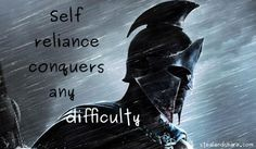 Discover and share Self Reliance Famous Quotes. Explore our collection of motivational and famous quotes by authors you know and love. Self Awareness Quotes, Self Reliance, Sign I, Famous Quotes, Great Quotes, Slogan, Darth Vader, Motivation, Sayings