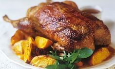 Canard a l'orange (Duck with oranges, France). Image shot 2007. Exact date unknown.