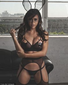 Ana Cheri, 29, pictured, is the top fitness model on Instagram with more than 4.6million f...