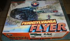 Lionel 6-31936 Pennsylvania Flyer Ready-to-Run O Gauge Train Set - GREAT GIFT!  #Lionel Train Sets For Sale, Gauges, Pennsylvania, Transformers, Great Gifts, Ebay, Ears Piercing, Plugs