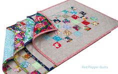 Instructions for Liberty Placemats by Red Pepper Quilts @ The Liberty Craft Blog