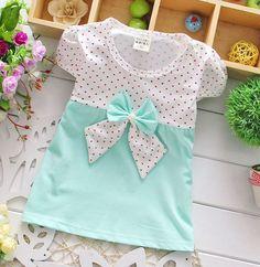 Baby Girl Polka Dots & Bow Dress