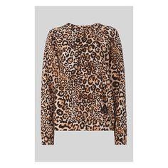 Leopard Print Sweatshirt Whistles