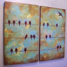 common theme but well done:  Birds on a Wire