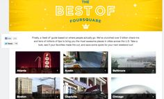 Foursquare reveals the 'best of' based on 3 billion check-ins