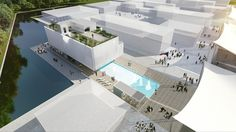 Milan Expo 2015: Czech Pavilion by Chybik + Kristof is Centered Around a Swimming Pool