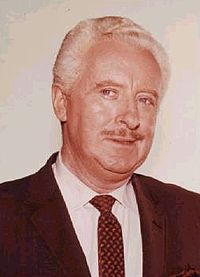 David White (April 4, 1916 – November 27, 1990) was an American stage, film and television actor best known for playing Darrin Stephens's boss Larry Tate in the 1964–72 situation comedy Bewitched.