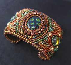 More bead embroidery