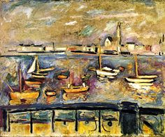 Emile-Othon Friesz, Harbor of Antwerp  on ArtStack #emile-othon-friesz #art