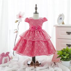 [Lucky& Lucky] wedding dress baby girls party dresses ball grwn layed dresses for kids beautiful Flower girl #>=#>=#>=#>=#> Click on the pin to check out discount price, color, size, shipping, etc. Save and like it!