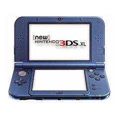 Nintendo New 3DS XL metallic, Videoconsola, azul