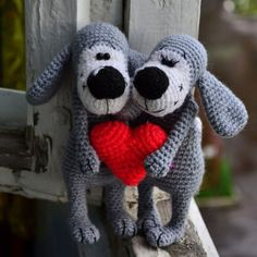 Boofle dog free crochet amigurumi pattern