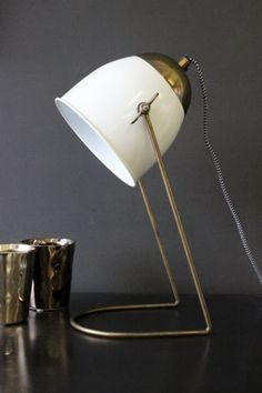 Best Stylish Task & Desk Lamps - High to Low — Annual Guide 2016 Bedside Table Lamps, Bedroom Lamps, Lamp Table, Bedroom Ideas, Desk Light, Lamp Light, Melbourne, Best Desk Lamp, Rockett St George