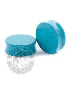 Turquoise Stone Plugs | Plug Your Holes - Your Lifestyle, Since 2006.