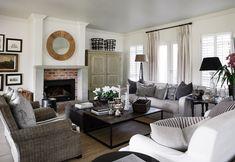 Gorgeous palette with natural elements by Jennifer Jones Interior Design