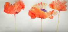 Watercolor fine art with subjects including flowers, landscape, still life, animal & wildlife and portraiture. Created by English artist Ruth S Harris. Watercolor Poppies, Kids Watercolor, Watercolor Disney, Watercolor Paintings, Watercolours, English Artists, Assemblage Art, Art Tutorials, Flower Art