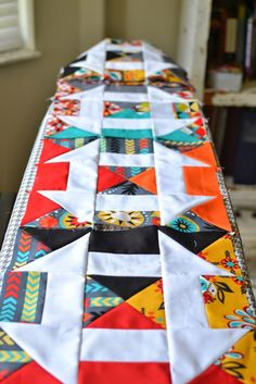 Blue Susan makes: Bejewled Churn Dash Quilt Block Tutorial