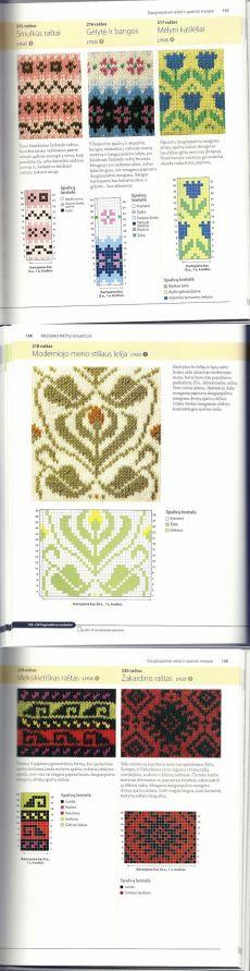 Album «Graziausi mezgimo rastai» / most beautiful knitting /